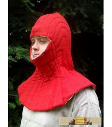 A padded coif