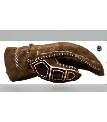 Lether Battle Glove type 5