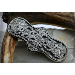 Viking Equal-armed brooch with granulation - replica of find from Bryansk